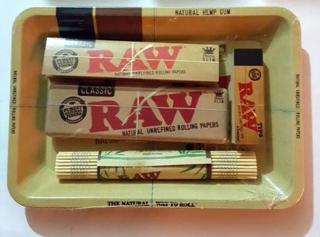 Raw Rolling Tray Set