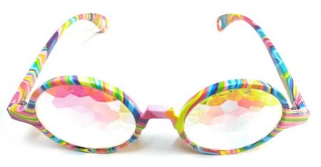 Hippie Kaleidoscope Glasses