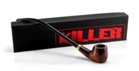 Killer Wooden Peace Pipe  Sherlock 12inch Style: 0343