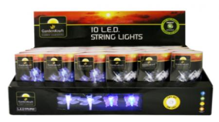 LED String Lights Dragonfly Or Butterfly Battery  Powered