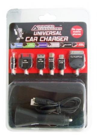 Universal Car Charger Nokia, Sony Ericsson, Samsung, HTC, Blackberry, Motorola, IPhone