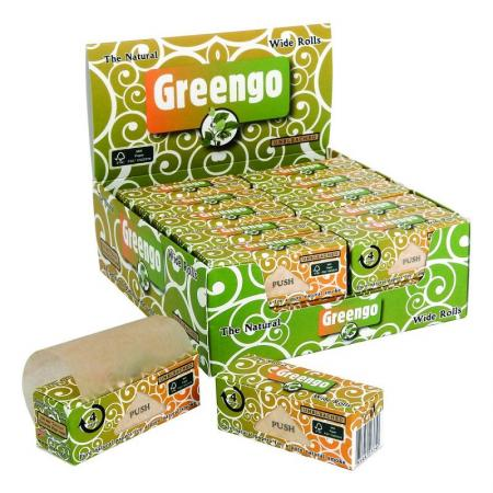 Greengo King Size Rolls Full Box of 24 Rolls