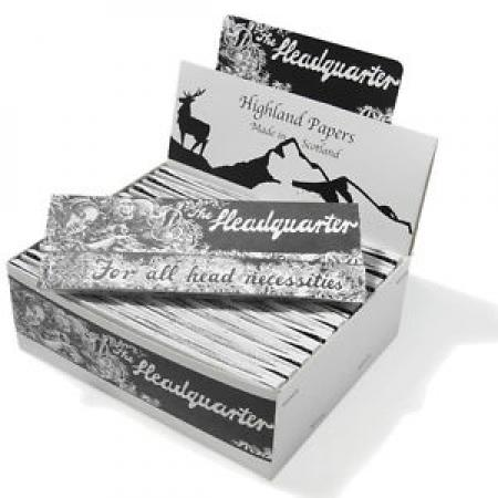 Highland Headquarters Kingsize Papers Full Box of 24 Booklets