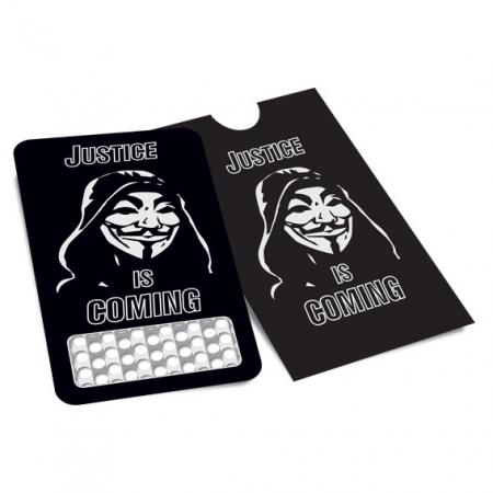 Credit Card Style Grinder Card - Anonymous
