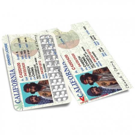Credit Card Style Grinder Card - Cheech and Chong