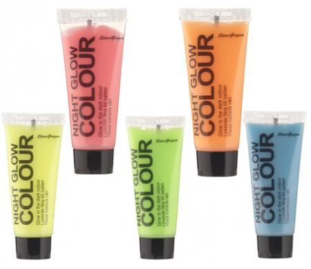 Stargazer Night Glow Body Paint Assorted Colours