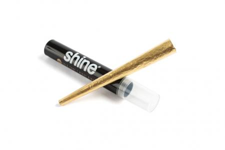 Shine 24k Gold Pre Rolled Smoking Paper Single Cone