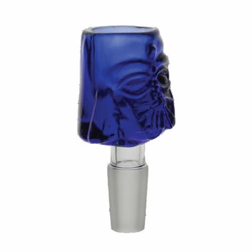 Blue Darth Baker Glass Bowl 18mm