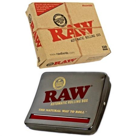 Raw Kingsize Automatic Rolling Box 110mm