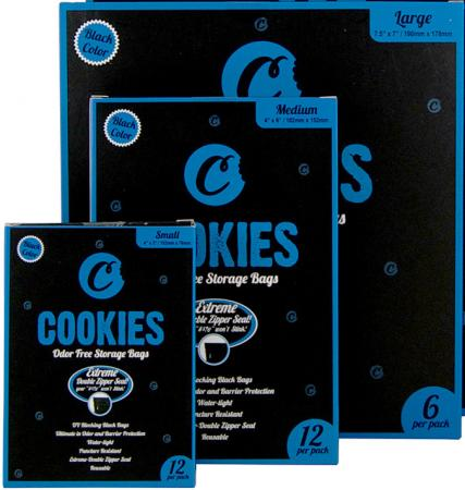 Cookies Smelly Proof Bags UV Protection Water Tight