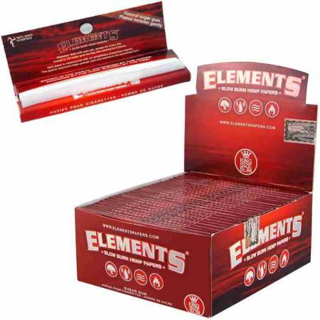 Element Red Kingsize Slim Hemp Papers