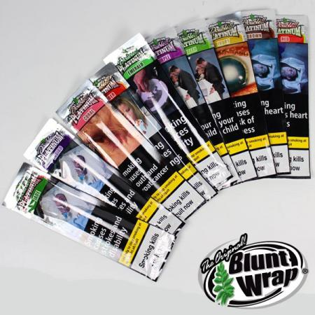 Platinum Double Blunt Wrap