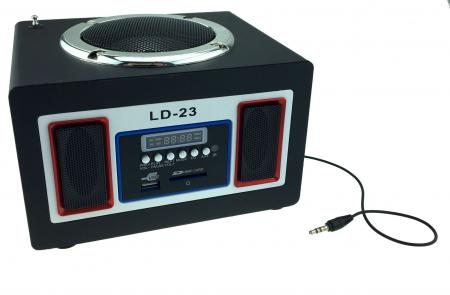 LD23  Remote Control USB Micro SD FM Radio Music speaker