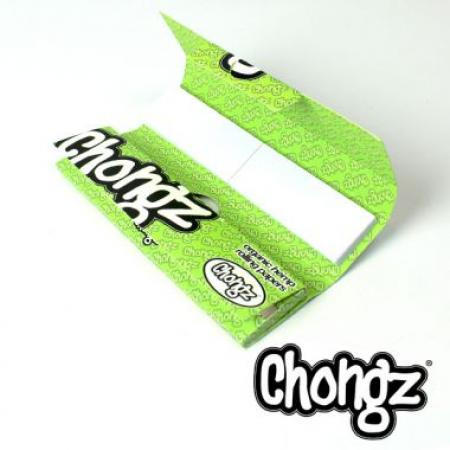 Chongz Organic Hemp Rolling Papers With Tips