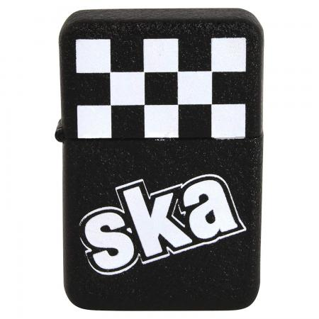 Ska Bomb Lighter Checkerboard Windproof