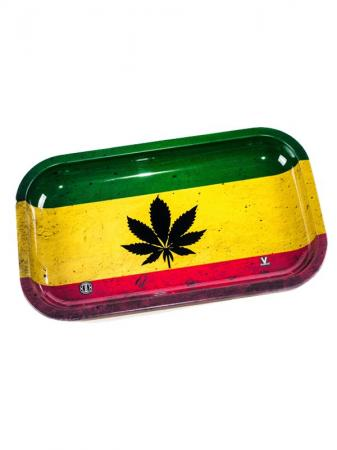 Rasta Leaf Tray Mini 18cm x 14cm