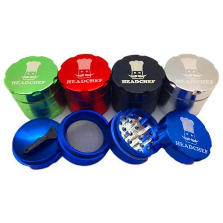 Head Chef 40mm 4 Part Metal Herb Grinder