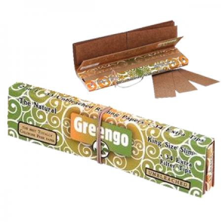 Greengo Kingsize Slim 2in1 Rolling Papers & Tips