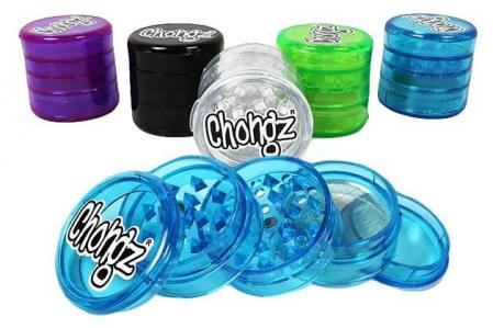 Chongz Herb 5 Part Magnetic Acrylic Grinder Crystal Crusher 50mm