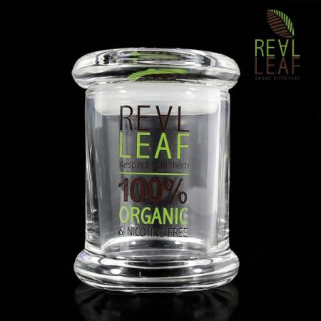 Real Leaf Airtight Glass Container 60ml