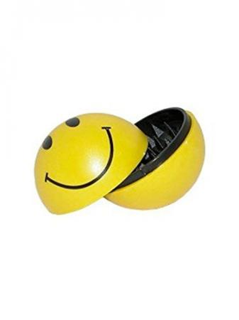 Smiley face Acid House Ball Herb Grinder