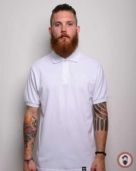 Short Sleeve Polo Shirt - White