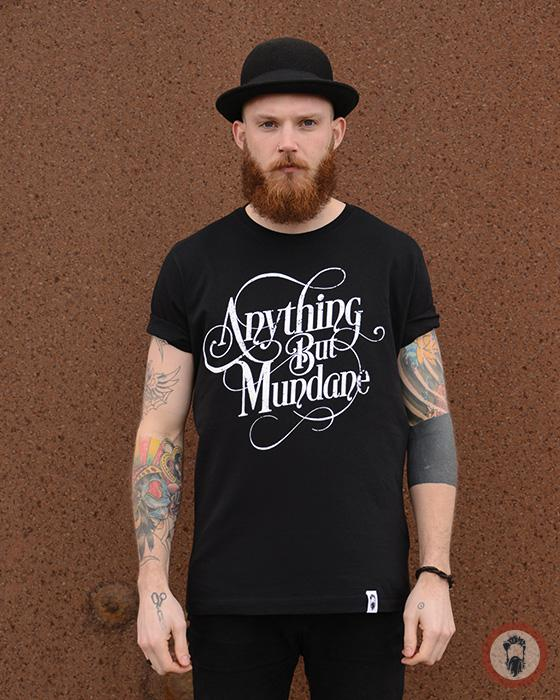 Anything But Mundane Tee - Black