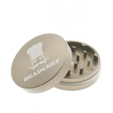 Head Chef 55mm Metal Herb Grinder 2 Part