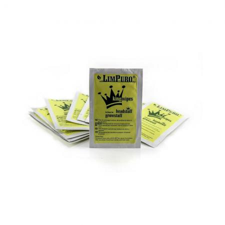 Limpuro King  Pipe Bong Wipes 10 Pack