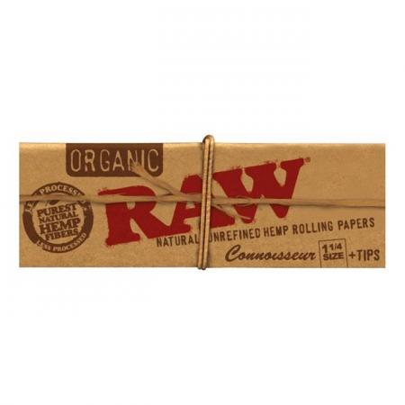 RAW Organic Connoisseur 1 1/4 Papers