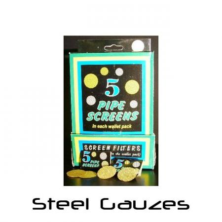 Steel Gauzes Box of 100 Packs
