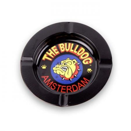 Bulldog Amsterdam Cafe Tin Ashtray