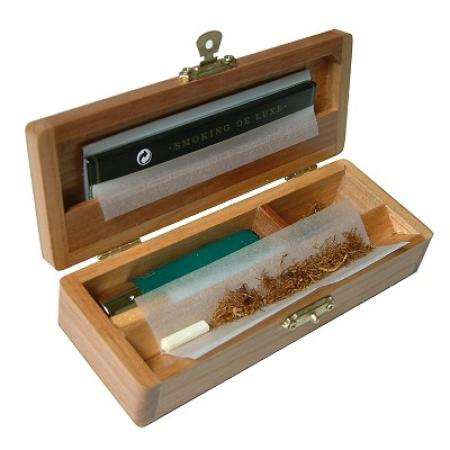 Wolf Wooden Deluxe Rolling Box - WT11V
