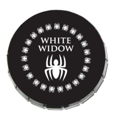 White Widdow HeadCase Pop Tin