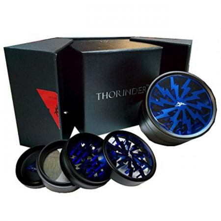 Thorinder Premium 4 Part Herb Grinder 62mm