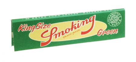 Smoking Green Rolling Papers