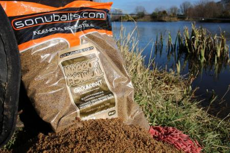 Sonu Baits Maggot Fishmeal Groundbait