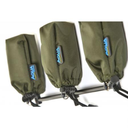 Aqua Set of 3 Alarm Pouches