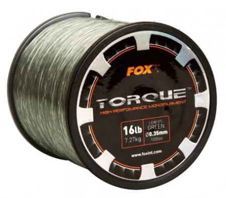 Fox Torque Carp Line Low Vis Green