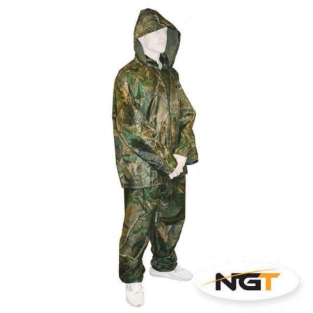 Quick on Waterproof 2 Piece Camo Suit (with FREE Carry Case)