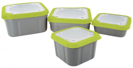 Matrix Grey/Lime Solid Top Bait Boxes