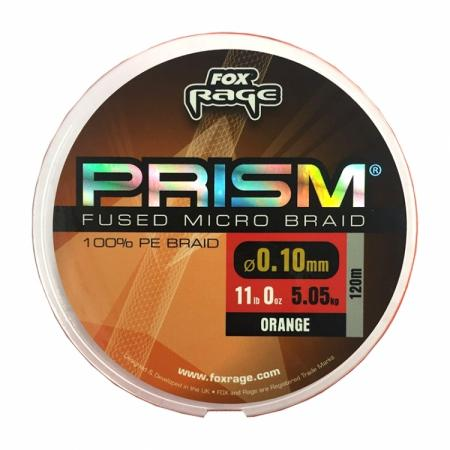 Fox Rage Prism Fused Braid Orange