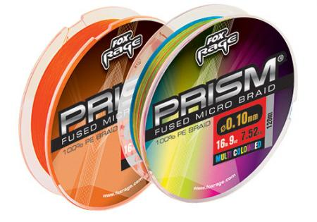 Fox Rage Prism Fused Braid Multi-Coloured