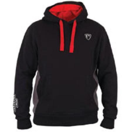 Fox Rage Ribbed Hoody Black/Grey