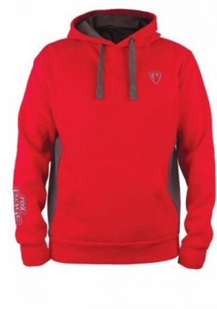 Fox Rage Ribbed Hoody Red/Grey