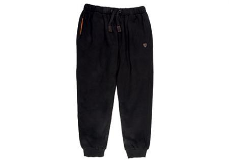 Fox Black / Orange Heavy Lined Joggers