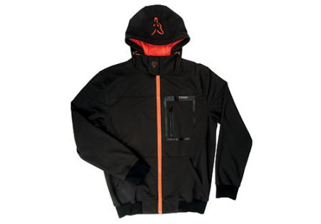 Fox Black / Orange Shoft-Shell Hoody