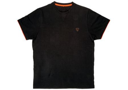 Fox Black / Orange Brushed T-Shirt