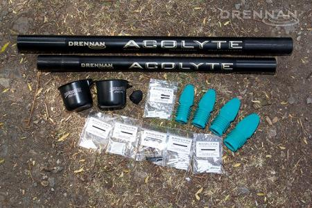 Drennan Acolyte Pole 16m Carp Plus Kit No.1