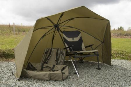 Korum Graphite 50in Brolly Shelter